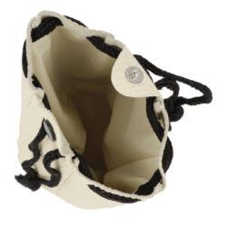 Pytlík na tabák, koženka, černý/šedý(85000)