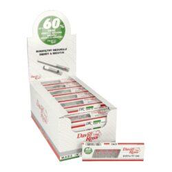 Cigaretové minifiltry David Ross Minifilters-Cigaretové minifiltry. Délka 2,5cm, průměr 0,8cm. Prodej pouze po celém balení (displej) 36 ks.