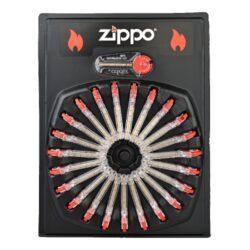 Kamínky do zapalovače Zippo Flint-Originální kamínky do benzínových zapalovačů Zippo. V zásobníku je 6 ks kamínků.