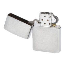 Zapalovač Zippo Brushed Chrome, broušený(Z 100)