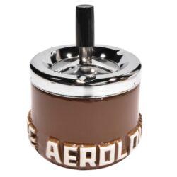 Cigaretový popelník otočný Aerolounge, keramický-Cigaretový popelník otočný Aerolounge. Samozhášecí popelník na cigarety je keramický, průměr 10cm.