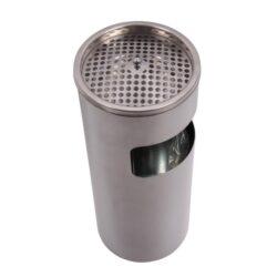 Venkovní popelník - odpadkový koš, 54cm-Venkovní popelník - odpadkový koš. Venkovní popelník je kovový. Popelník venkovní s košem má rozměr 54x25cm.
