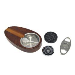 Doutníkový Humidor Set Angelo hnědý(82060)