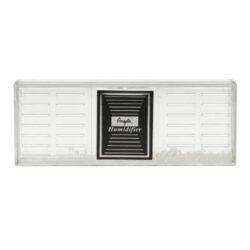 Zvlhčovač Angelo Crystall, polymerové krystaly, 16,7x6,5x1,9cm-Transparentní zvlhčovač Angelo Crystall obsahuje uvnitř polymerové krystaly, místo klasické houbičky používané u běžných zvlhčovačů. Výhoda polymerových krystalů je v delší době udržení vlhkosti v humidoru a také delší životnost zvlhčovače. Zvlhčovač je z transparentního plastu s mřížkou. Dodává se s magnetickými držáky, díky kterým se uchytí uvnitř humidoru. Rozměr: 16,7x6,5x1,9cm.