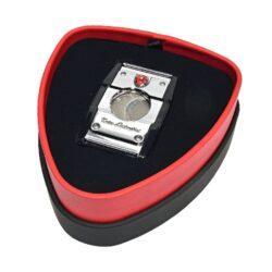 Doutníkový ořezávač Lamborghini Precisione, chrom-černý(91300)