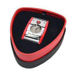 Doutníkový ořezávač Lamborghini Precisione, chrom-červený(91302)