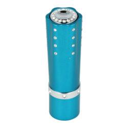 Dámský zapalovač Hadson Lipstick, modrý, bílé kamínky Swarovski-Plynový dámský zapalovač. Dámský zapalovač je zdoben kamínky Swarovski. Zapalovač je plnitelný.