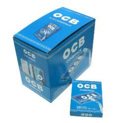 Cigaretové filtry OCB Extra Slim+OCB Blue-Cigaretové filtry OCB Extra Slim+papírky OCB Blue. Knížečka obsahuje 50 ks papírků. Prodej pouze po celém balení (displej) 20 ks.