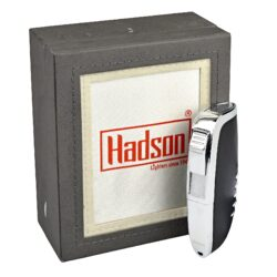 Tryskový zapalovač Hadson Vega, černý(10250)