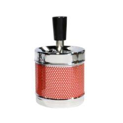 Cigaretový popelník otočný Gitter, kovový-Cigaretový popelník otočný Gitter. Samozhášecí popelník na cigarety je kovový, průměr 6,5cm.