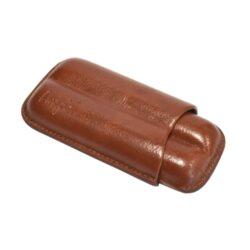 Pouzdro na 2 doutníky Etue, hnědé, koženka 120mm-Pouzdro na dva doutníky (Etue). Pouzdro na doutníky je dlouhé 120mm, průměr 18mm. Doutníkové pouzdro je koženkové.
