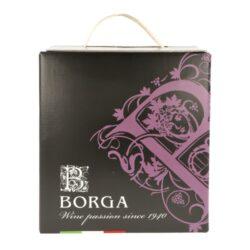 Víno Borga Merlot IGT 5l 11,5%, červené, Bag in box(IMERVZEB5)