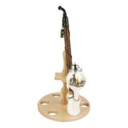 Dýmka keramická BPK 89-427, 310mm-Keramická dýmka. Keramická dýmka BPK je ručně vyrobena. Dýmka má plastový náustek. Délka dýmky: 310mm. Dýmka je dodávána v dárkové krabičce.