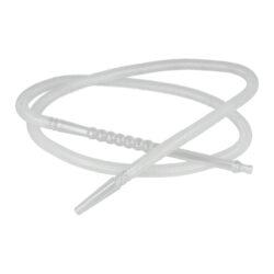 Náhradní hadice (šlauch) pro vodní dýmku, 1,5m-Náhradní plastová hadice (šlauch) pro vodní dýmky. Plastový šlauch je vcelku včetně náustku a adaptéru pro připojení do vodní dýmky. Vnější min. průměr zasouvací kónické části do vodní dýmky je 1 cm. Hadice je vyrobena z kvalitního PVC. Údržba je velmi jednoduchá, ke zbavení nečistot stačí propláchnutí obyčejnou vodou. Provedení: černé. Délka hadice: 1,5 m