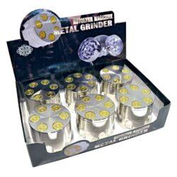 Drtič tabáku Bullets, kovový(340950)