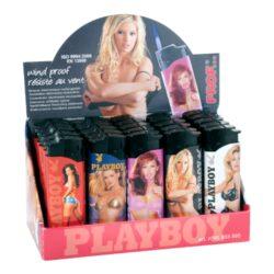 Zapalovač Prof Turbo Playboy-Žhavící zapalovač Playboy. Zapalovač je plnitelný. Prodej pouze po celém balení (displej) 25 ks.