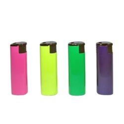 Zapalovač Eurojet Metall Mix-Zapalovač žhavící nebo s normálním plamenem. Zapalovač je plnitelný.V balení je 12 zapalovačů žhavících a 12 s normálním plamenem. Provedení: žhavící zapalovač- černé, červené, zlaté, stříbrné, zapalovač s normálním plamenem - růžové, žluté, zelené, modré.