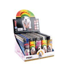 Zapalovač Prof Piezo Teo Jasmin II-Plynový zapalovač. Zapalovač je plnitelný. Prodej pouze po celém balení (displej) 50 ks.