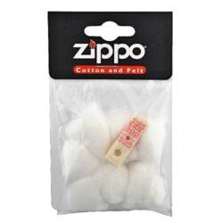 Vata do zapalovače Zippo-Náhradní vata do zapalovače Zippo + náhradní těsnění (plstěné). V balení 7 ks vatové výplně, 1 ks těsnění.