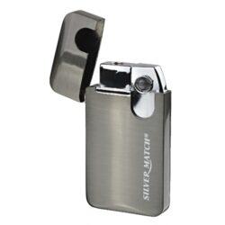 Zapalovač Silver Match Homerton-Žhavící zapalovač. Zapalovač je plnitelný. Výška 6cm. Cena je uvedena za 1 ks.