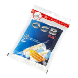 Cigaretové filtry OCB Slim s lepícím proužkem-Cigaretové filtry OCB Slim s lepícím proužkem. Při balení lepivý proužek lépe uchytí filtr k papírku. Průměr 6 mm, délka 15 mm. Sáček 150 ks filtrů. Cena uvedená za jedno balení (sáček).