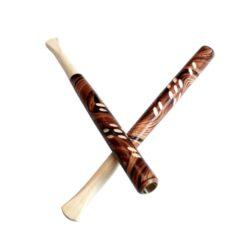 Cigaretová špička řezaná, 13cm-Cigaretové špičky řezané, dřevěné. Délka 13cm, průměr 0,8cm.
