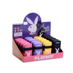 Tryskový zapalovač Prof Blue Flame Playboy-Tryskový zapalovač Playboy. Zapalovač je plnitelný. Prodej pouze po celém balení (displej) 20 ks.