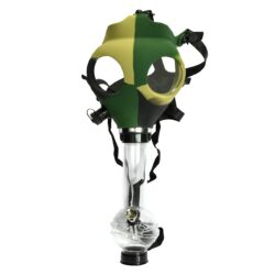 Bong Maska akryl (plast) 21cm, maskáč-Akrylový (plastový) bong Maska. Výška: 21 cm Průměr: 4 cm Materiál: akryl