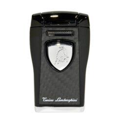 Tryskový zapalovač Lamborghini Argo, černý-Tryskový zapalovač Argo Tonino Lamborghini. Zapalovač je plnitelný. Tryskový zapalovač je dodáván v dárkové krabičce.