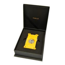 Doutníkový ořezávač Siglo, žlutý(11068D)