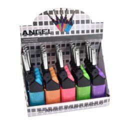 Domácnostní zapalovač Angel Turbo BBQ Mini-Žhavící zapalovač pro domácnost. Zapalovač je plnitelný. Prodej pouze po celém balení (displej) 20 ks.