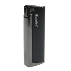 Zapalovač Eurojet Vegas, černý-Zapalovač žhavící. Zapalovač je plnitelný. Výška 7,2cm.