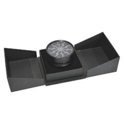 Drtič tabáku Alu - Black, kovový(340136)