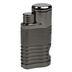 Doutníkový zapalovač Winjet Mega, šedý-Doutníkový zapalovač. Tryskový zapalovač na doutníky má integrovaný vyštípávač. Zapalovač je plnitelný. Doutníkový zapalovač je dodáván v dárkové krabičce.