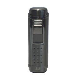 Doutníkový zapalovač Winjet Zug, gunmetal-Doutníkový zapalovač. Tryskový zapalovač na doutníky má integrovaný vyštípávač. Zapalovač je plnitelný. Doutníkový zapalovač je dodáván v dárkové krabičce. Výška 8,5cm.