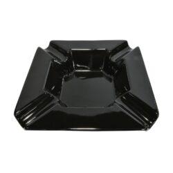 Doutníkový popelník keramický Angelo, černý(424280)