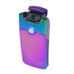 USB Zapalovač Winjet Arc, el. oblouk, duhový-USB zapalovač s elektrickým zapalováním. USB zapalovač využívá k zapálení elektrický oblouk, namísto tradičního plynu. V zapalovači je integrovaný MicroUSB port, kterým se USB zapalovač dobíjí. V balení je přiložen nabíjecí MicroUSB-USB kabel. Doba nabíjení USB zapalovače cca 60 minut. Výška zapalovače 7cm.