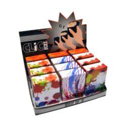 Pouzdro Clic Boxx Color na cigarety-Pouzdro na cigarety. Pouzdro Clic Boxx je určené na krabičku cigaret (20ks) velikosti King Size. Po stisknutí dojde k otevření pouzdra díky pružince. Rozměry: 9,5x5,8x2,4cm. Provedení: plast.