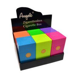 Pouzdro na cigarety Clic Boxx 100 na stovkové cigarety, Angelo-Pouzdro na cigarety. Pouzdro na cigarety Clic Boxx - pouzdro na krabičku cigaret (20ks) stovkové velikosti. Po stisknutí dojde k otevření pouzdra díky pružince. Rozměry: 10,8x5,8x2,4cm. Pouzdro na cigarety je plastové.