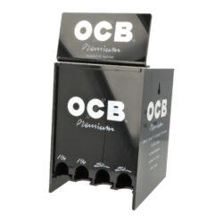 OCB prezentér Slim Premium + Blue-OCB prezentér s cigaretovými papírky OCB Slim Premium a OCB Blue. Prezentér obsahuje 1x balení cigaretových papírků OCB Slim Premium(50 ks) a 2x balení cigaretových papírků OCB Blue(2x25 ks). Prezentér OCB a jedno balení papírků OCB Blue je ZDARMA. Cena platná: 1x OCB Slim Premium(50 ks), 1x OCB Blue(25 ks). Prezentér je dodáván naplněn a je znovu naplnitelný.