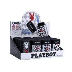 Tryskový zapalovač Prof Blue Flame Playboy Single-Tryskový zapalovač Playboy. Zapalovač je plnitelný. Prodej pouze po celém balení (displej) 20 ks.