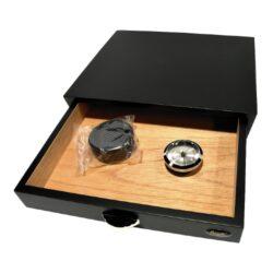 Humidor na doutníky Angelo Drawer Black(920017)