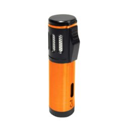 Doutníkový zapalovač Cool Rocky 3xjet, barevný-Doutníkový zapalovač. Tryskový zapalovač je vhodný pro zapalování doutníků. Doutníkový zapalovač je plnitelný. Výška 8,5cm. Cena je uvedena za 1 ks.