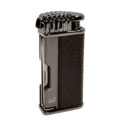 Dýmkový zapalovač Winjet Tool, gunmetal-Dýmkový zapalovač. Integrováno dusátko a lžička na čištění dýmky. Dýmkový zapalovač je plnitelný. Výška zapalovače 6,8cm.