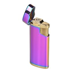 Zapalovač Cool Rainbow, 12mix-Plynový zapalovač. Možno vybrat tryskový zapalovač, žhavící zapalovač nebo zapalovač s normálním plamenem. Zapalovač je plnitelný.