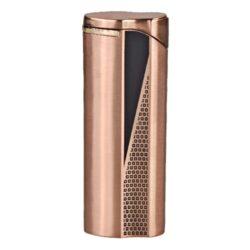 Zapalovač Hadson Groove, měděný-Kovový žhavící zapalovač. Zapalovač je plnitelný. Výška 7cm.