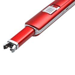 Domácnostní USB zapalovač Wildfire, červený(11533)