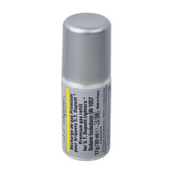 Plyn do zapalovače S.T. DuPont žlutý, 30ml-Prémiový plyn do zapalovače S.T. DuPont. Tento plyn je určen pro zapalovače S.T. DuPont řady Ligne 1 small, Ligne 2. Plnicí hrot je plastový se závitem. Z jednoho balení plynu S.T. DuPont naplníte zapalovač 3 - 8krát dle typu. Balení 30ml.  Rozměry: Plnící hrot - vnější průměr/vnitřní průměr/vnější průměr se závitem: 4mm/1,8mm/7mm Výška plynové náplně s víčkem: 100mm Výška bez víčka včetně plnícího hrotu: 90mm Průměr náplně: 35mm  Plnění zapalovače:  Zapalovač je nutné obrátit plnícím ventilem vzhůru a poté našroubovat plyn. Závit plynové náplně se protáčí, závit nedojde do konce, jen nepatrně ztuhne. Po našroubování je nutné zapalovač a plyn stisknout silou proti sobě a tím se zapalovač naplní.