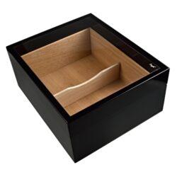 Humidor na doutníky Angelo černý prosklený(920780)