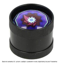 Drtič tabáku kovový mini 3D, 30mm(31107)